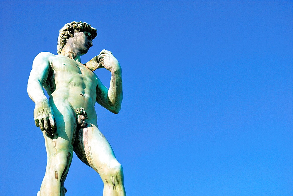 Italy, Florence, Michelangelo Square, The David