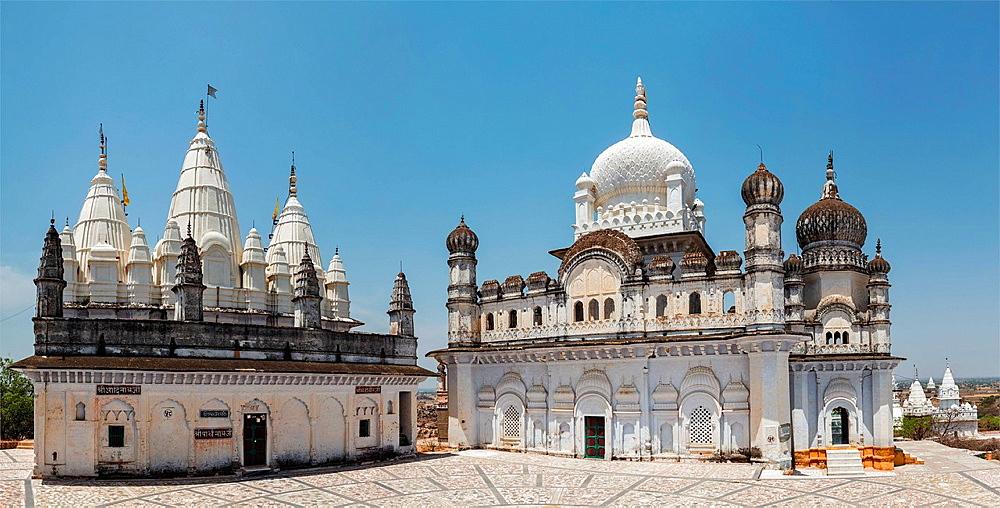 Jain Temple, Sonagiri, Madhya Pradesh, India