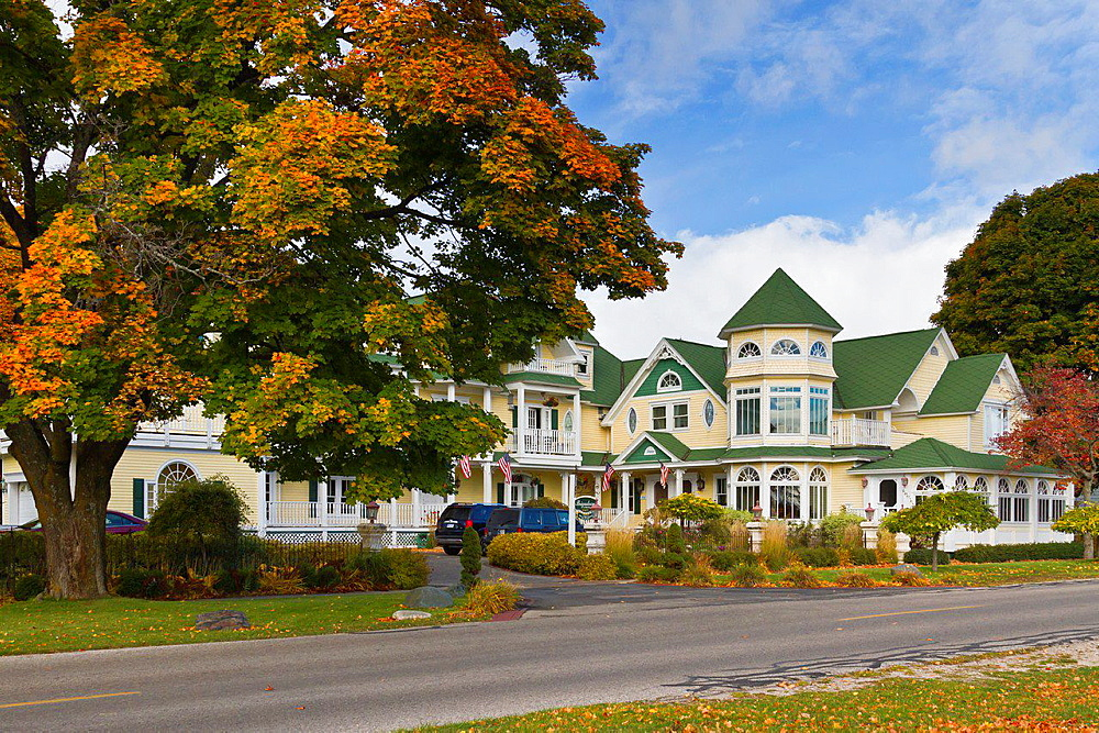 The Brigadoon Bed and Breakfast at Mackinaw City, Michigan, USA