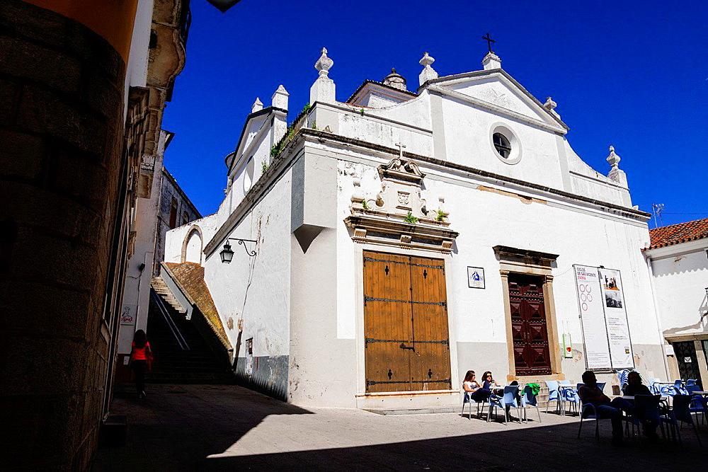 church of Sao Vicente, Evora, Alentejo, Portugal, Europe.