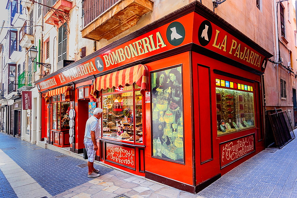 La Pajarita, Chocolatier, Palma, Mallorca, Balearic Islands, spain, europe.