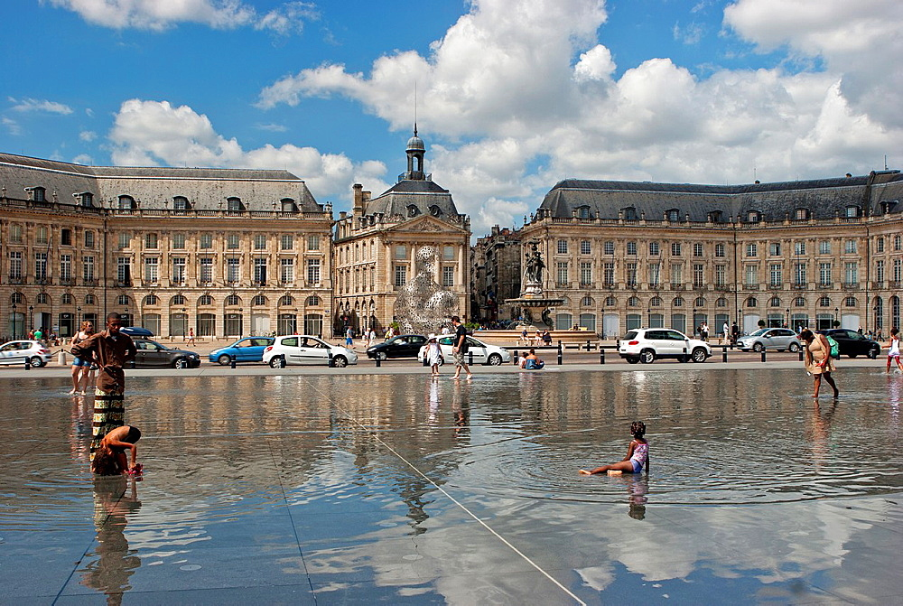 La Place de la Bourse, Bordeaux