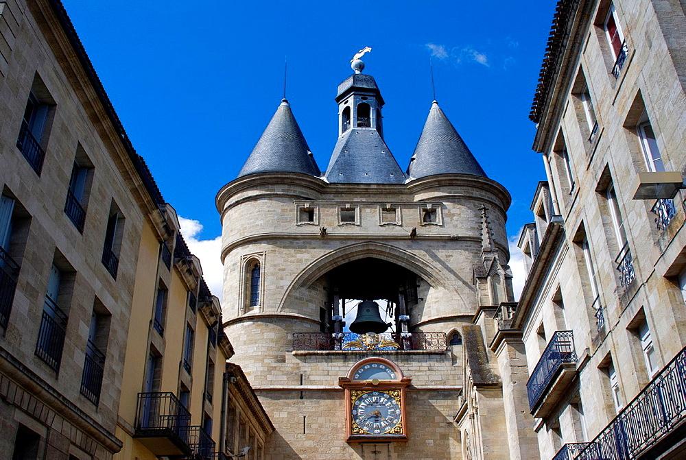 Porte de la Grosse Horloge, Bordeaux