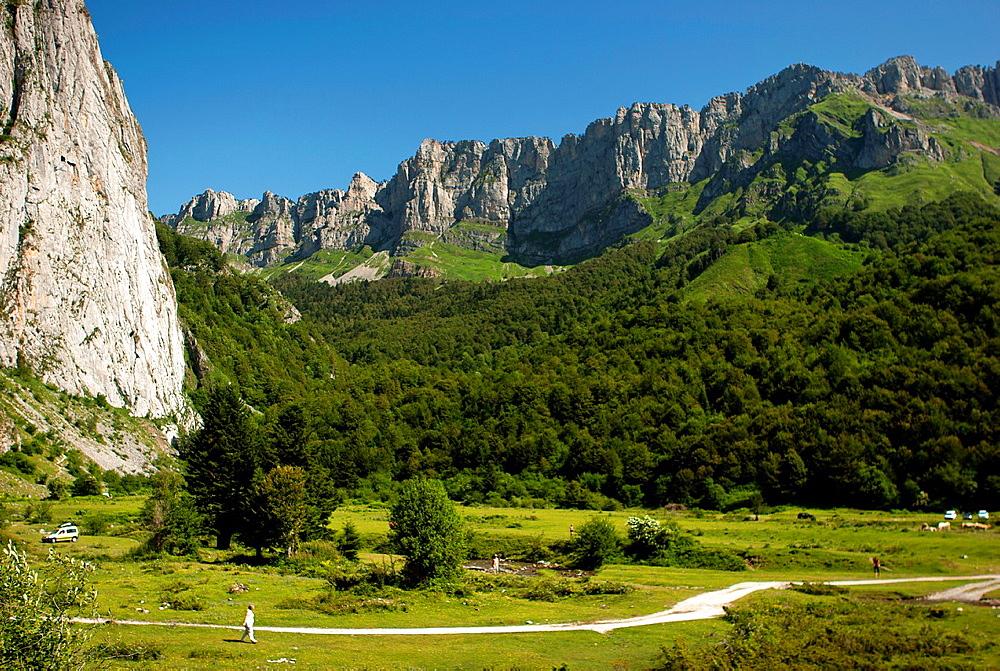 Plateau de Sanchesse, Lescun