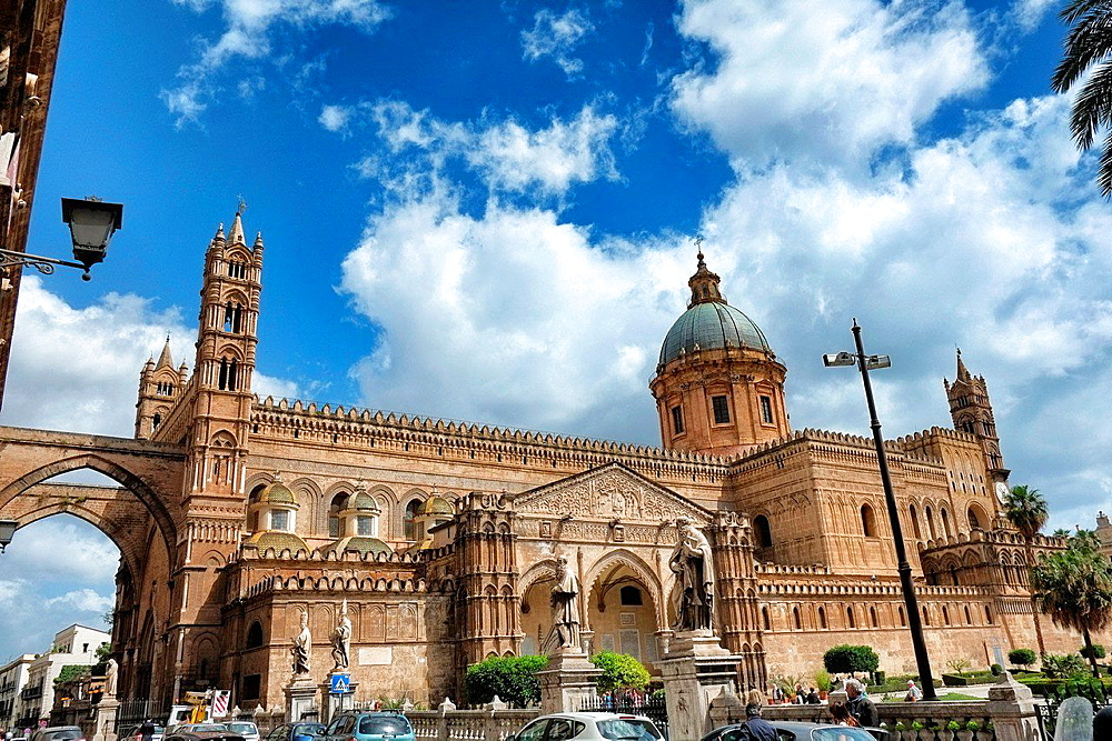 Duomo cathedral, Palermo. Sicily, Italy