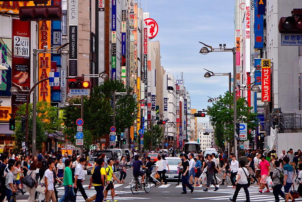 Metropolis Tokyo at Shinjuku.