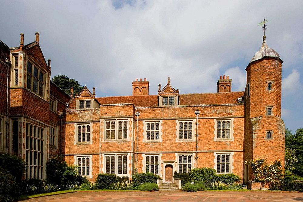 Long Melford, Elizabethan Mansion, Suffolk, England.