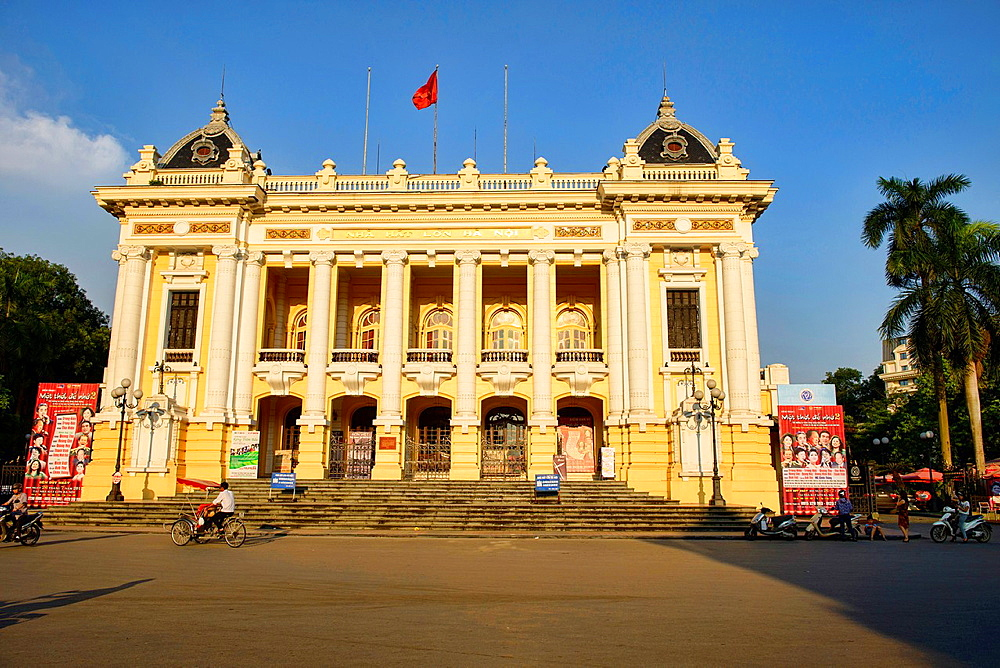 The Opera House in Hanoi, Vietnam.