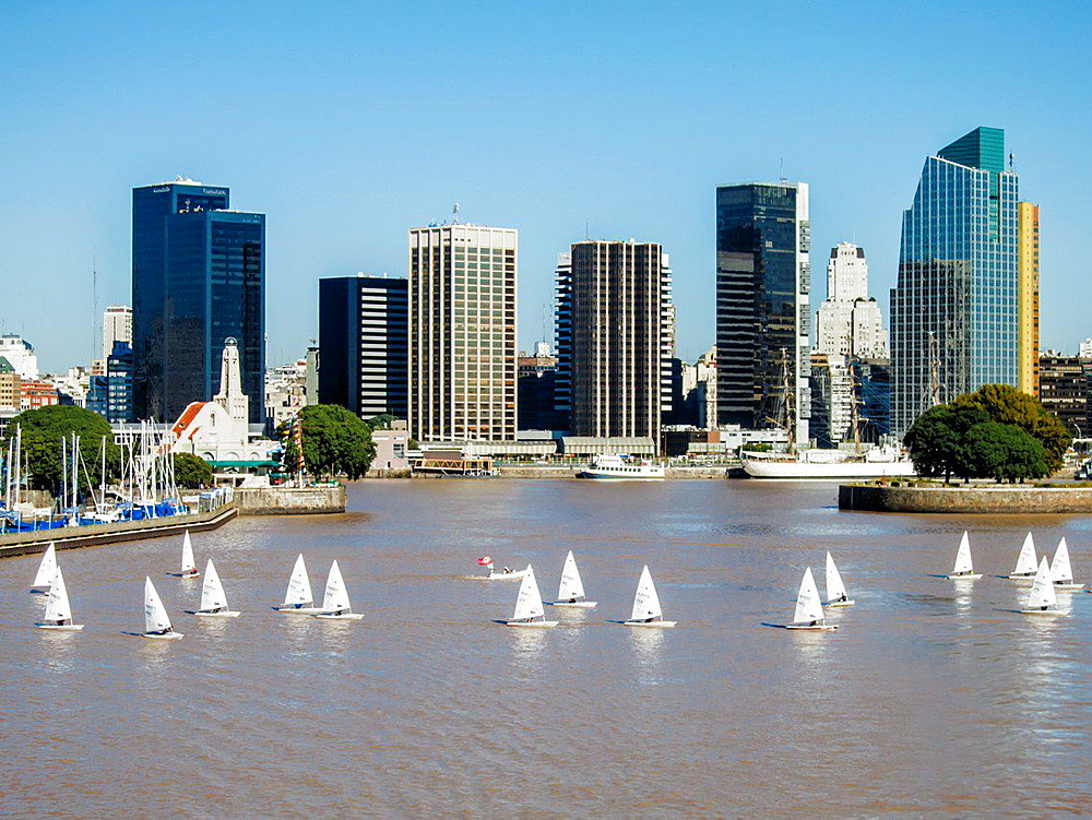 Buenos Aires waterfront. - 817-452291