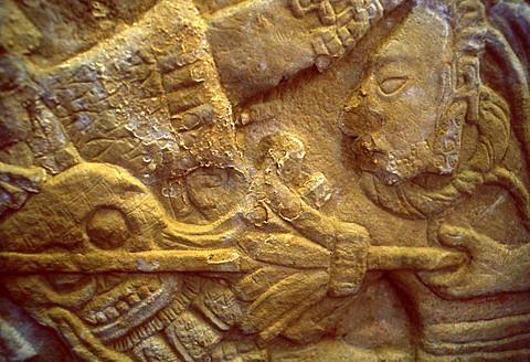 Bonampak Maya archeological site, Lacandon Jungle, Ocosingo, Chiapas, Mexico