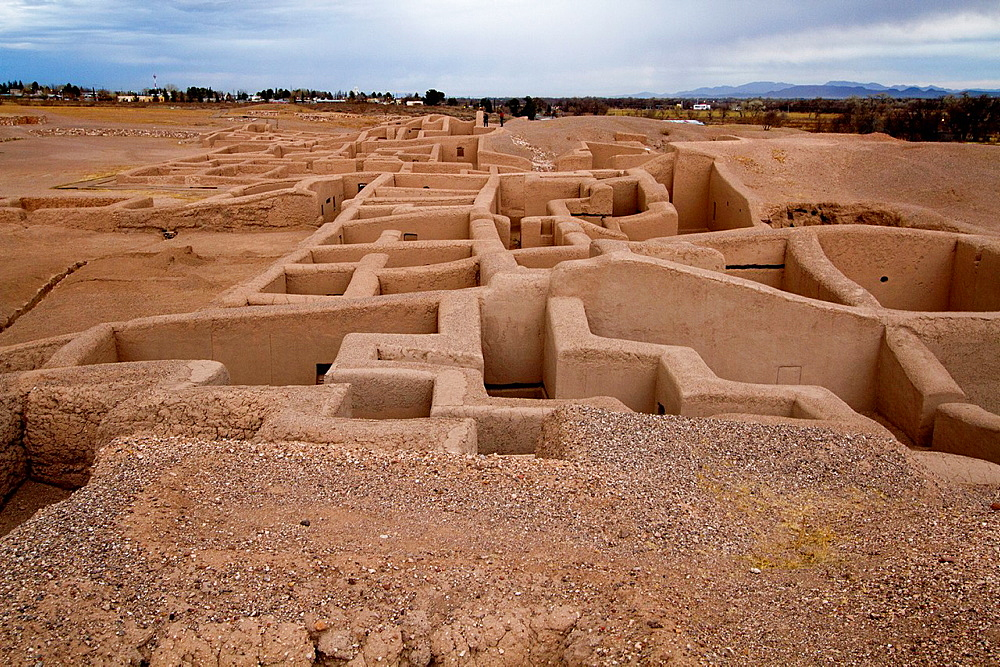 Casas Grandes also known as Paquime pre-Columbian archaeological zone. Chihuahua, Mexico