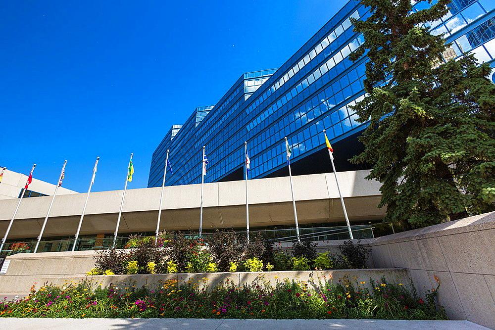 Calgary Municipal Building in Calgary, Alberta, Canada