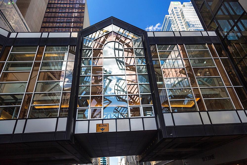 Modern architecture and skyscrapers, Calgary, Alberta, Canada