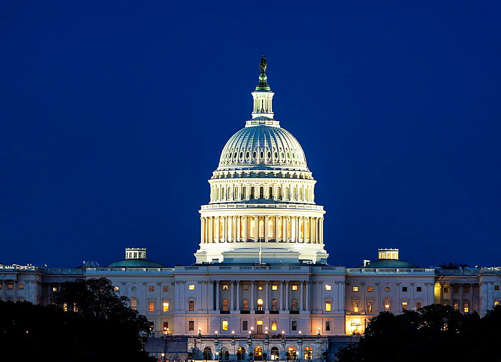 The United States Capitol Building, Washington D.C., USA.