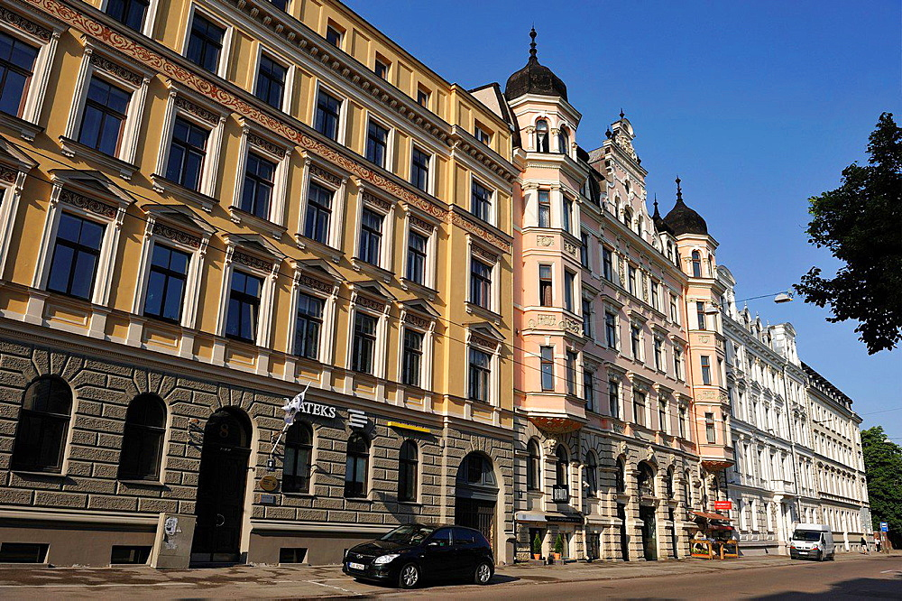 Old Town, Riga, Latvia, Baltic region, Northern Europe.