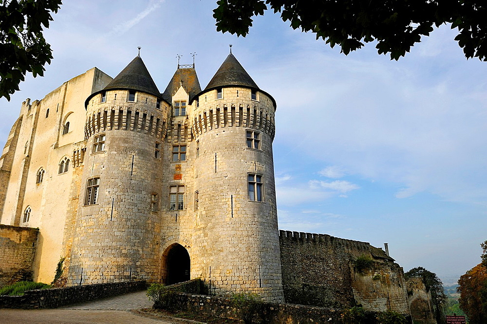 Castle St-Jean, Nogent-le-Rotrou, Parc naturel regional du Perche, Eure & Loir department, region Centre, France, Europe.