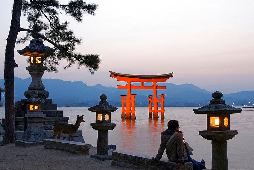 Welcome to Miyajima Guest House Mikuniya Our Japanese style guest house is located on Miyajima Island in Hiroshima