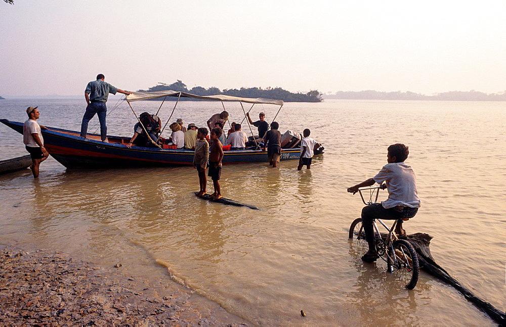 Orinoco river. Venezuela.