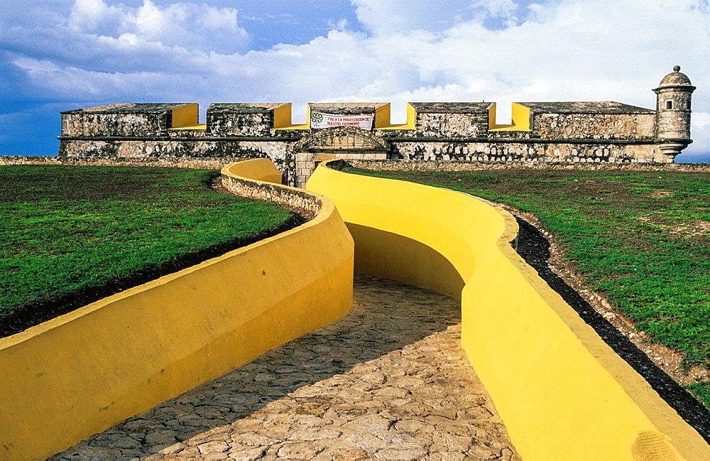 Fuerte, fortress, San Jose. Campeche