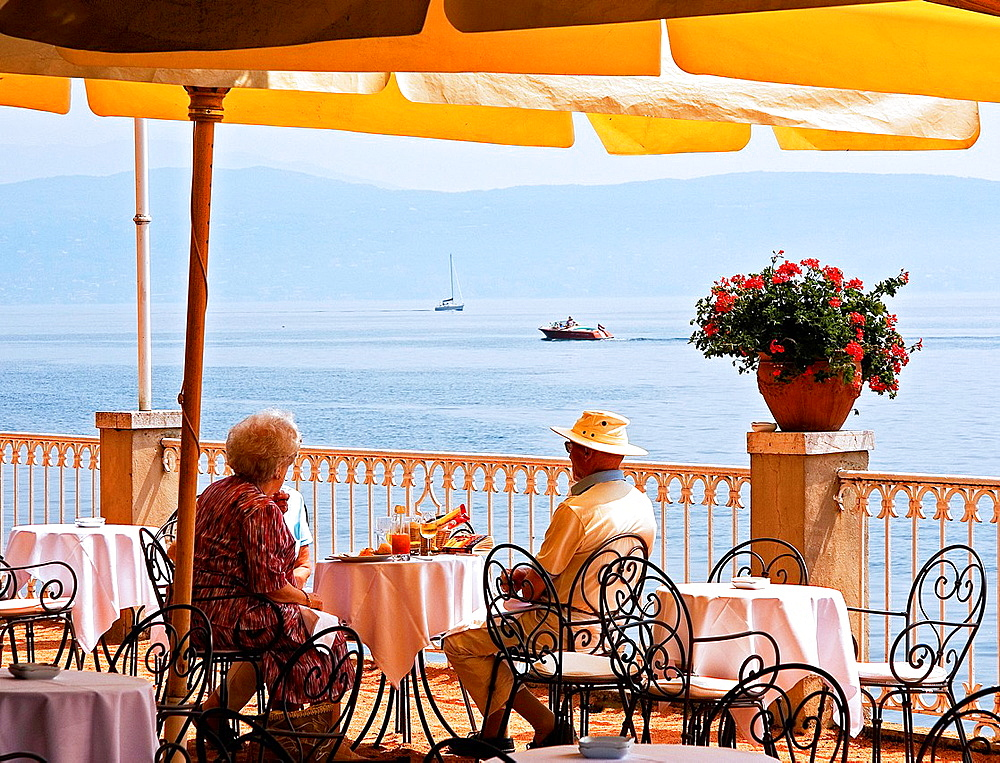 Village of Salo. Garda lake. Lombardy, Italy.