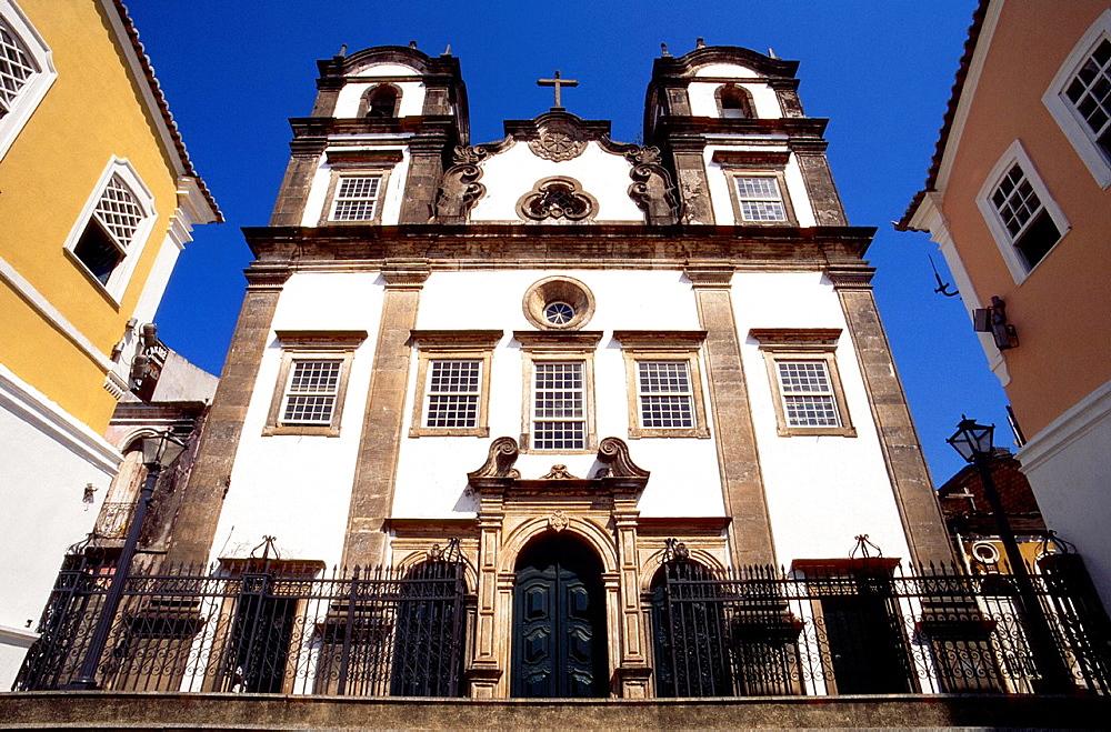 santissimo sacramento do passo, church, pelourinho, salvador, bahia, brazil, south america.