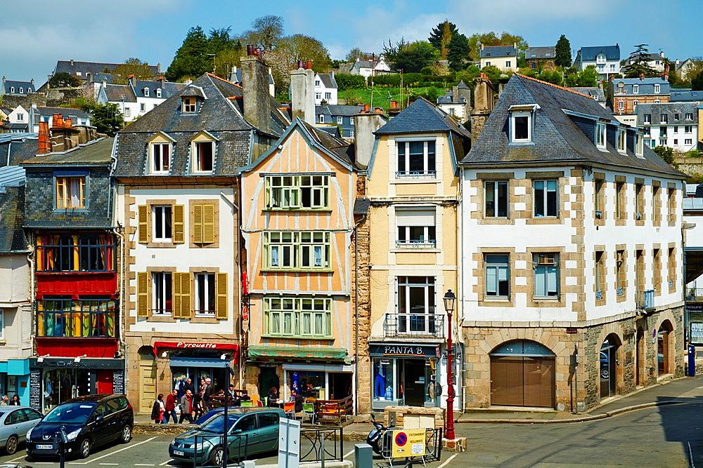 France, Briitany, Finistere, Morlaix.
