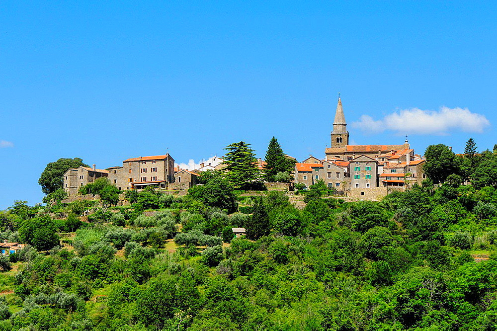 Istria, Croatia, Groznjan.