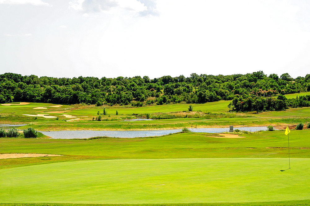 Istria, Croatia, Katoro, golf course, Umag.