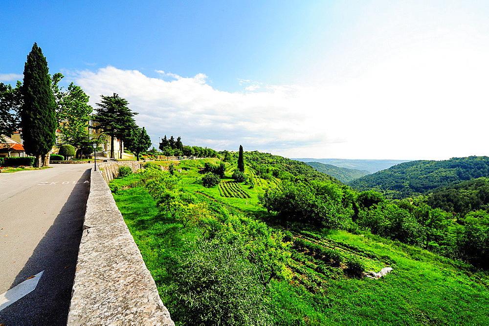 Istria, Croatia, Obertal, Portole, Oprtalj.