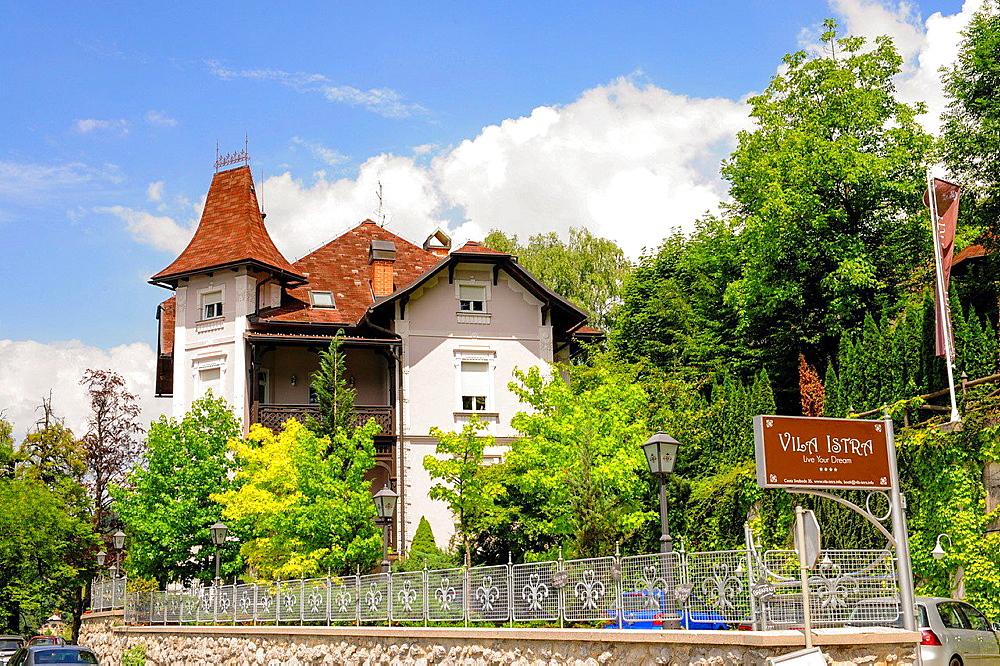 Triglav, Bled, Villa Istra, Slovenia, Northern Slovenia.
