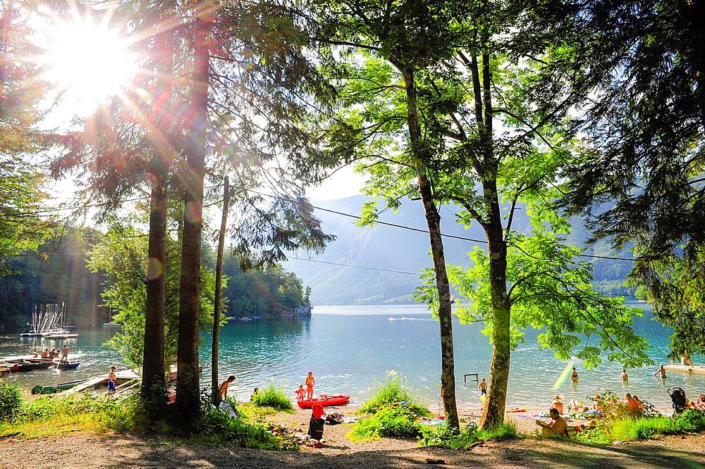national park, Slovenia, national park Triglav, Bohinjsko jezera.