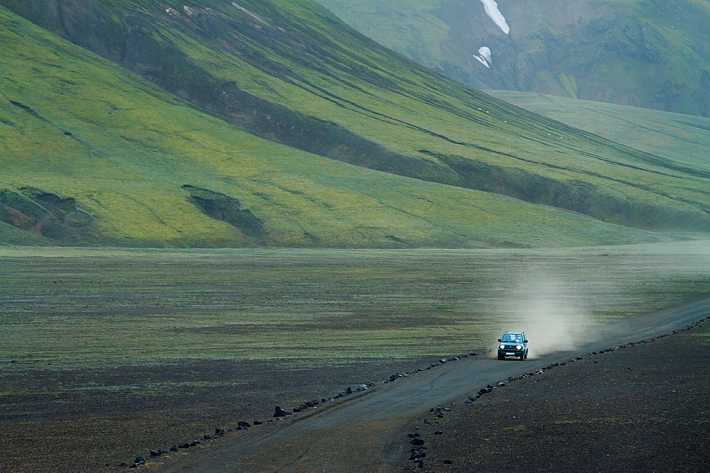 Landmannalaugar region. Highlands. Iceland, Europe.