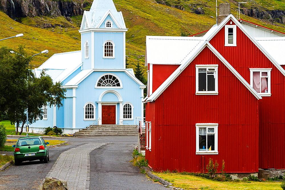 Seydisfjordur. Iceland, Europe. - 817-455615