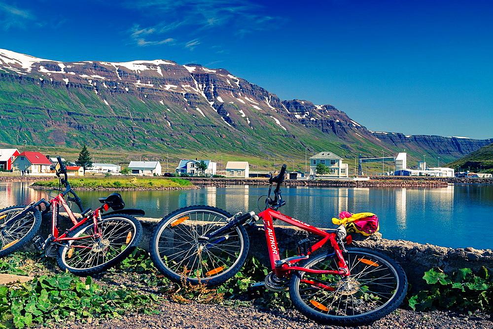 Seydisfjordur. East Fjords. Iceland, Europe.
