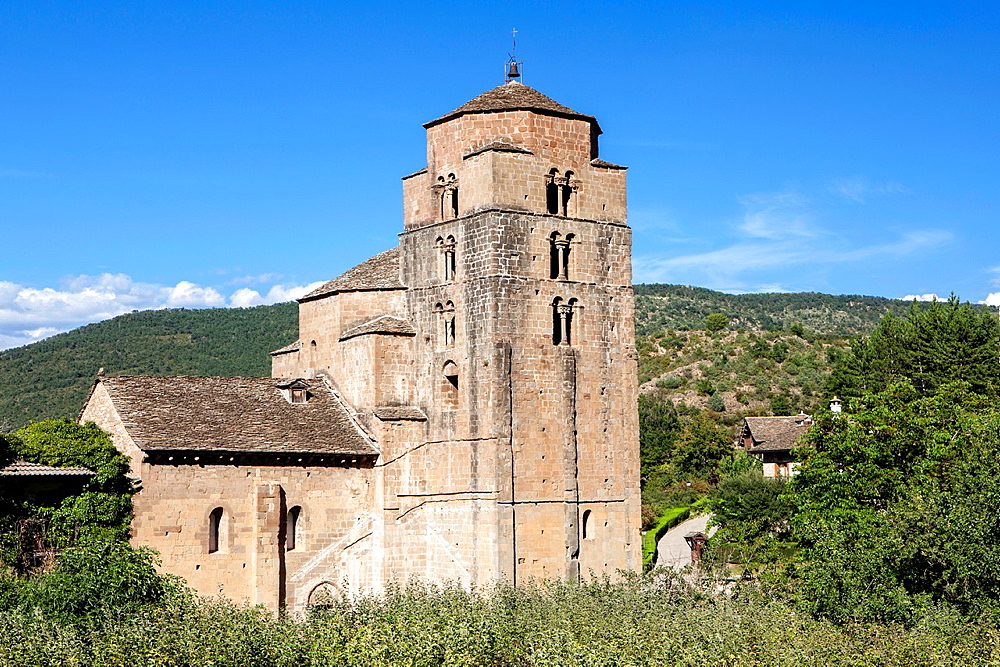 Church of Santa Cruz de la Seros, Huesca, Spain.