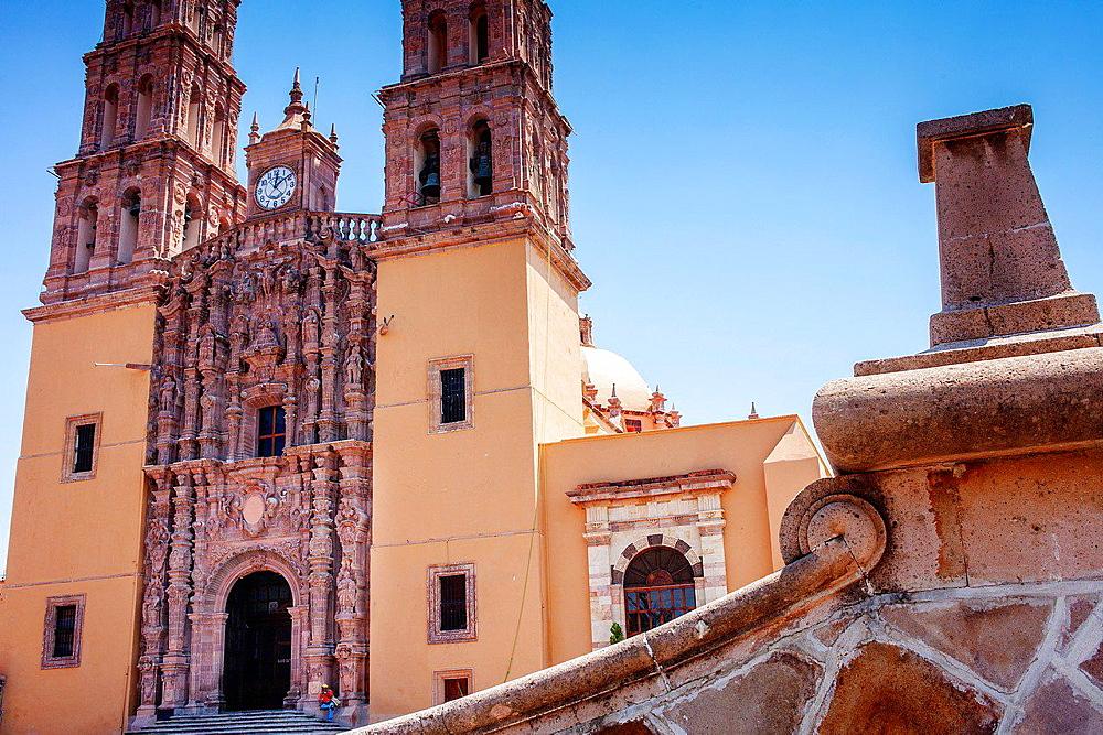 Parroquia de Nuestra Senora de Dolores, Plaza Principal, Dolores Hidalgo, Guanajuato State, Mexico.