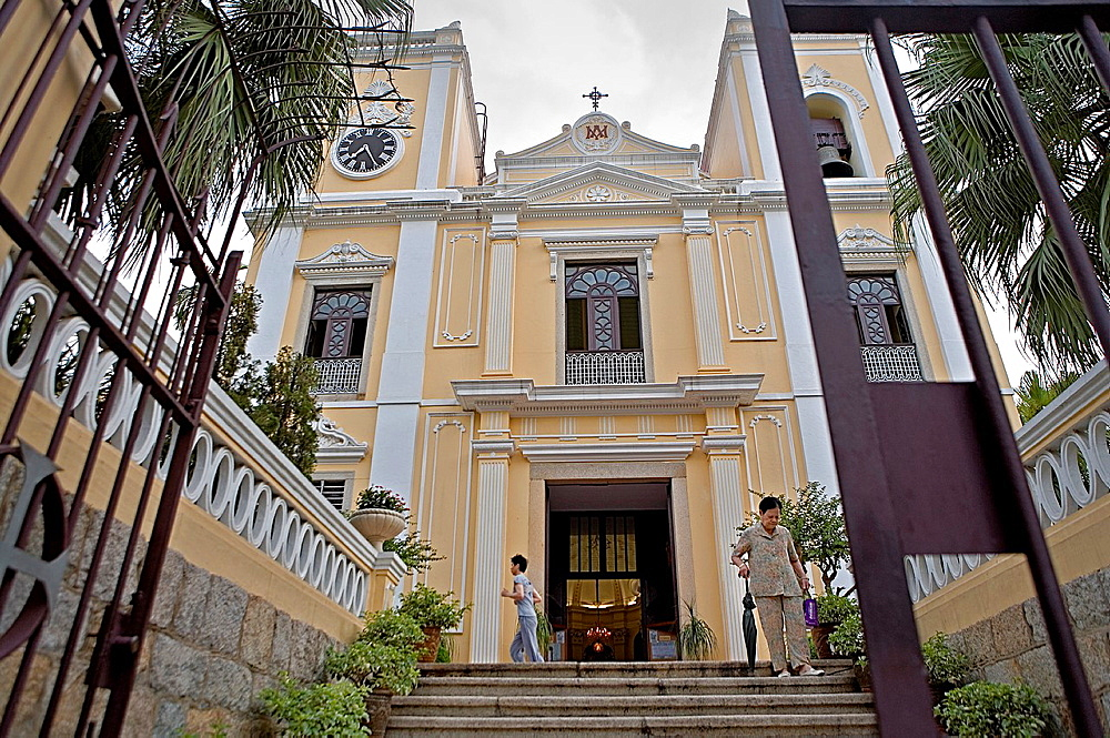 Sao Lourenco church, Macau, China