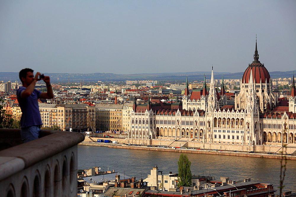 Hungarian Parliament, Budapest, Hungary.