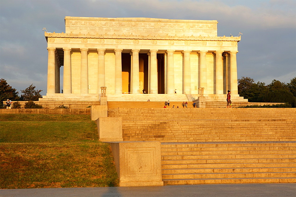Lincoln memorial, Washington D.C., USA.