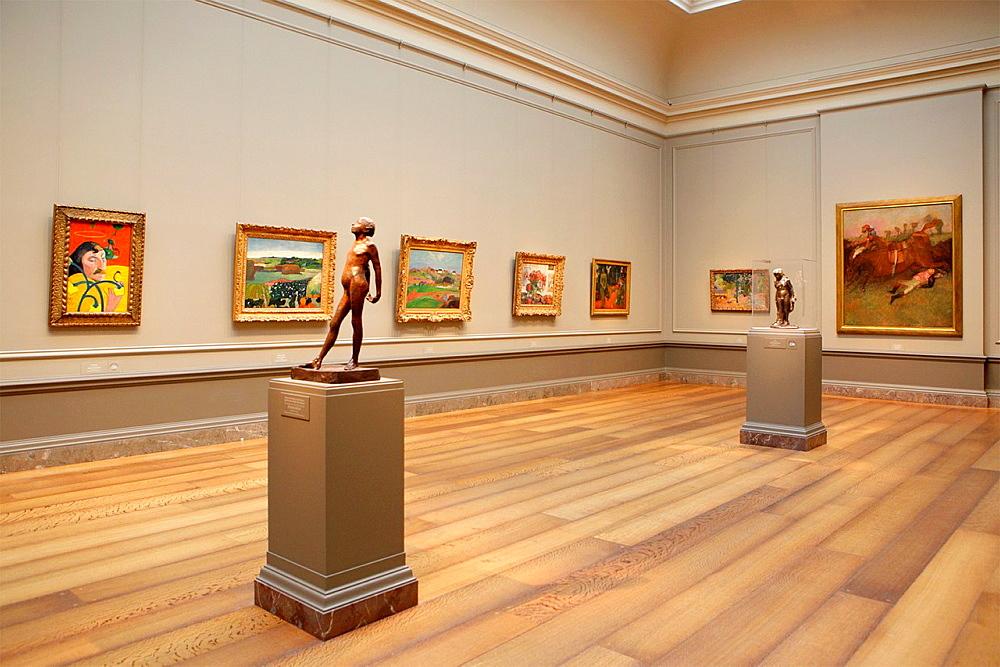 Paintings at National Gallery of Art, Washington D.C., USA.