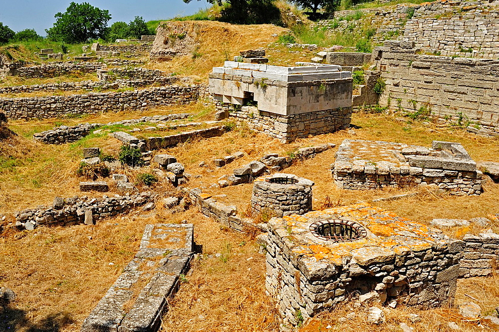 Religious sanctuary from Troy 8, 7th century BC, Troy Historic Site, Biga Peninsula, Turkey