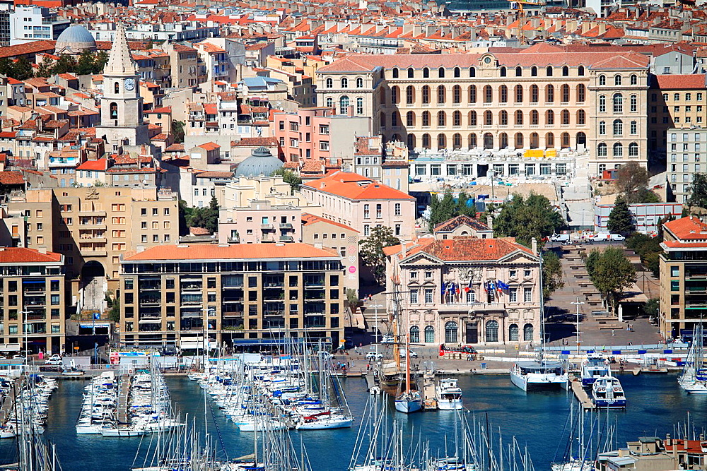 Marseille, The old harbor, Bouches du Rhone, 13, PACA, France.