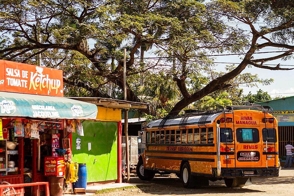 Rivas village, Nicaragua.
