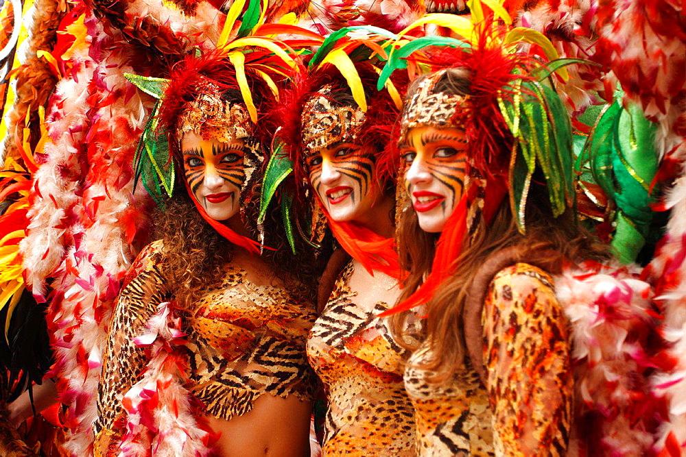 Carnival in Victoria, Gozo island, Malta.