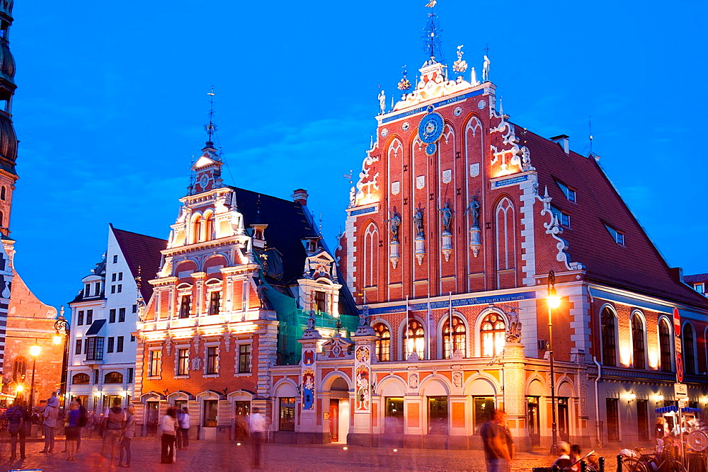 House of the Blackheads, Riga, Latvia, Riga, Latvia.