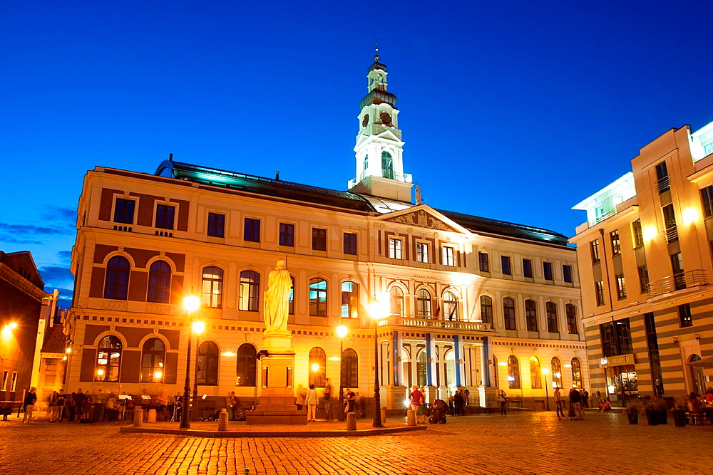 City Hall, Riga, Latvia.