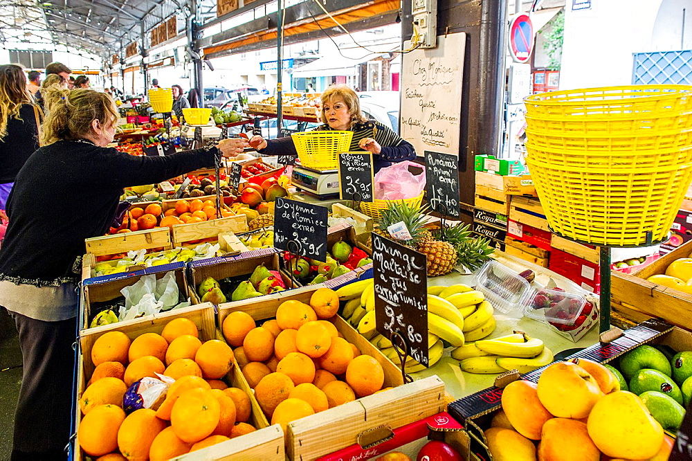 Europe, France, Alpes-Maritimes, Antibes. Provencal market.