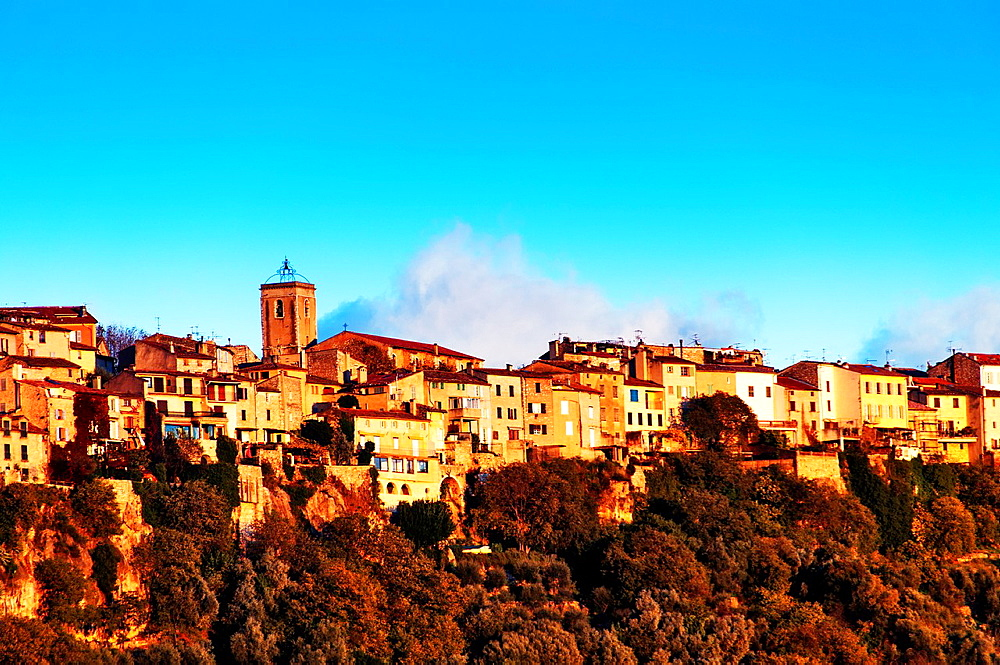 Europe, France, Alpes-Maritimes, Saint-Cezaire village.