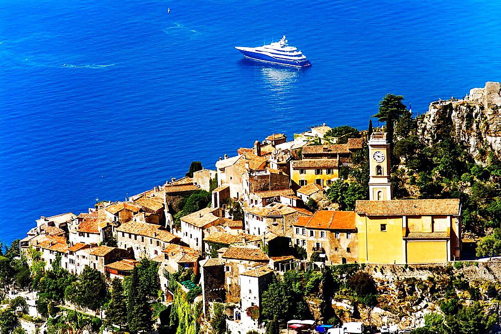 Europe, France, Alpes-Maritimes. Eze village.