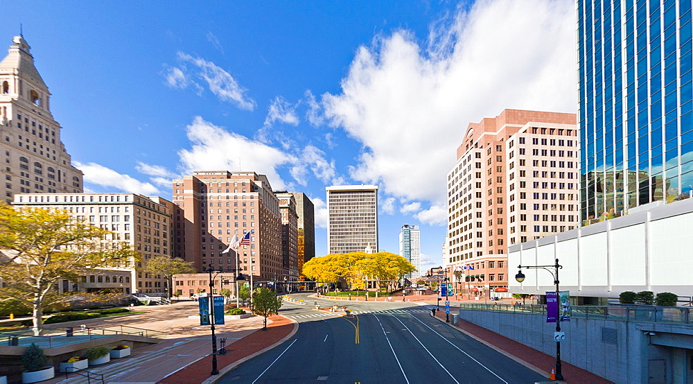 Downtown Hartford Connecticut
